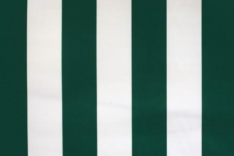 novely® SUNRISE 420D Polyester Stoff | UV-beständig | Farbe W-32 Weiß-Dunkelgrün