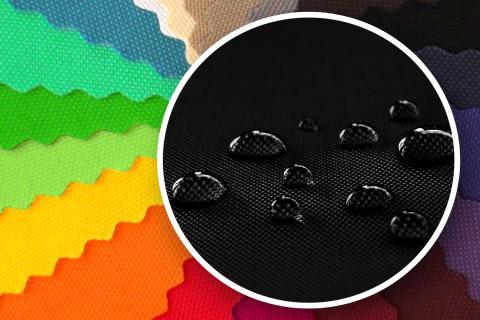novely® SUNSET 420D Polyester Stoff | UV-beständig | Farbe 03 Schwarz