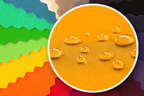 novely® SUNSET 420D Polyester Stoff | UV-beständig | Farbe 33 Sonnengelb