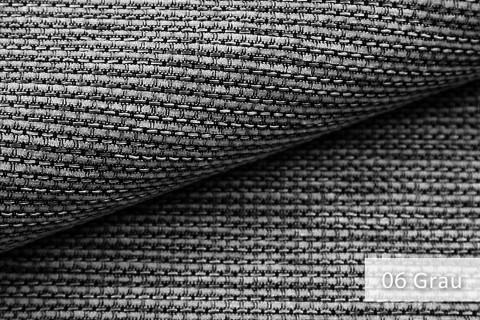 novely® SUTRUM Webstoff | Polsterstoff | Farbe 06 Grau