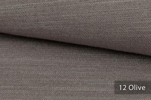 novely® exquisit TERRINO RECYCLING Polsterstoff | Möbelstoff schwer entflammbar | 12 Olive