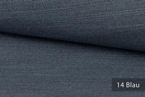 novely® exquisit TERRINO RECYCLING Polsterstoff | Möbelstoff schwer entflammbar | 14 Blau