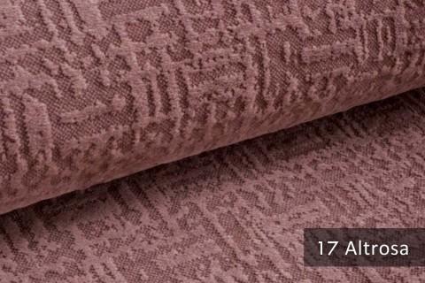 novely® exquisit VENEZIA – prachtvoller und samtweicher Möbelstoff | 17 Altrosa