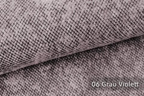 novely® WESSELN – extravaganter Möbelstoff mit Netz-Muster - Velours Polsterstoff | 06 Grau Violett