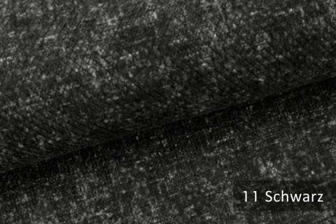 novely® WESSELN – extravaganter Möbelstoff mit Netz-Muster - Velours Polsterstoff | 11 Schwarz