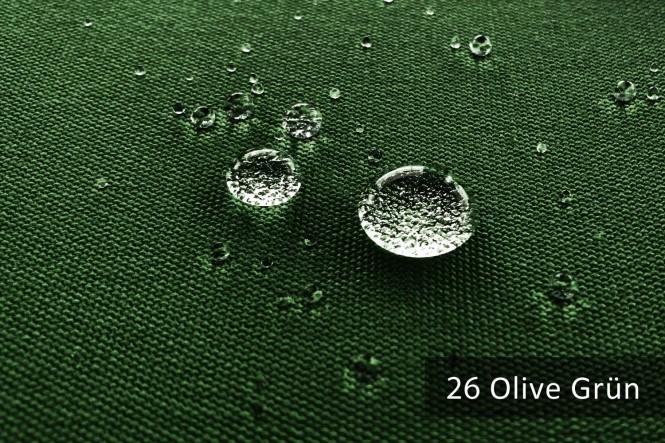 ARAGON WATERPROOF - Wasserdichter Outdoorstoff - 26 Olive Grün