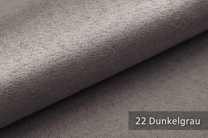 ALPEN - Microfaser Möbelstoff - 22 Dunkelgrau