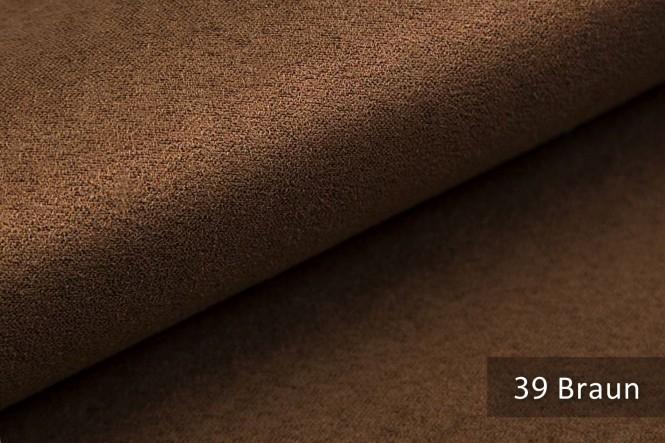 ALPEN - Microfaser Möbelstoff - 39 Braun