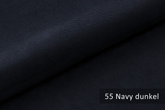 ALPEN - Microfaser Möbelstoff - 55 Navy dunkel