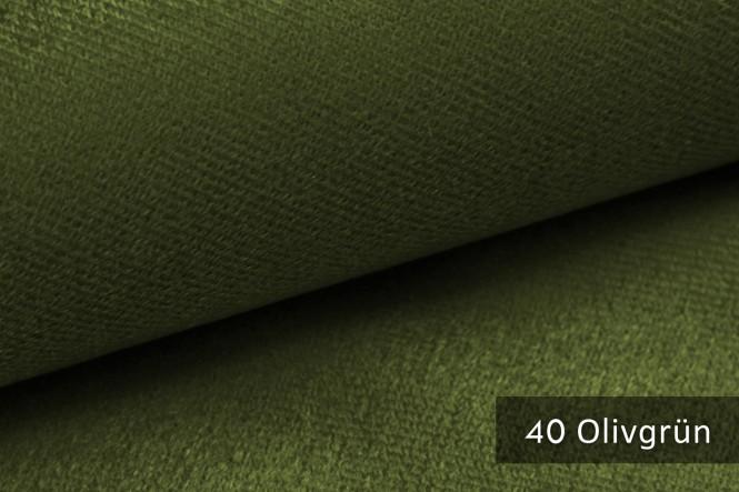novely® MUSTERSTÜCKE - Möbelstoffe Velours - ARTENA | M-ART - 40 Olivgrün