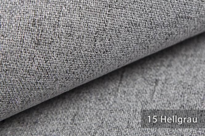AUEN - Mélange Möbelstoff - 15 Hellgrau