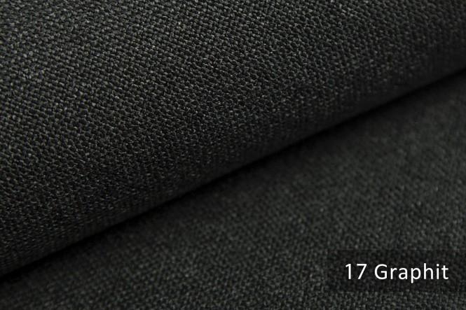 AUEN - Mélange Möbelstoff - 17 Graphit