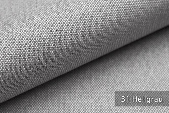 BALTRUM - Fein gewebter Möbelstoff - 31 Hellgrau