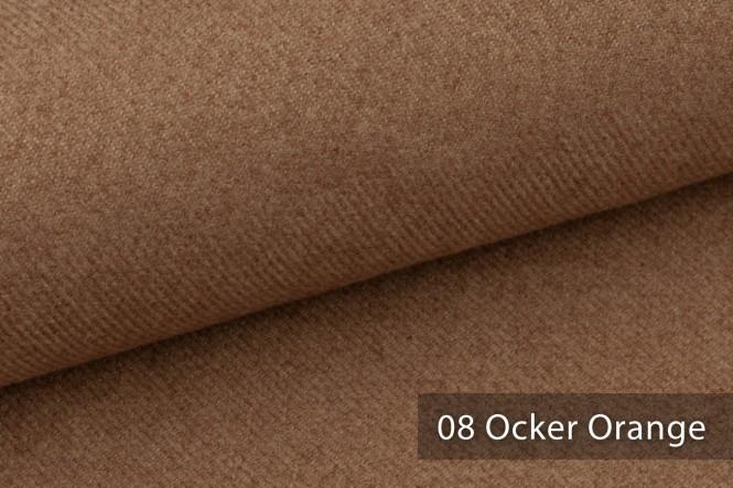 novely® MUSTERSTÜCKE - Möbelstoffe EXQUISIT - CALMI   E-CAL - 08 Ocker Orange
