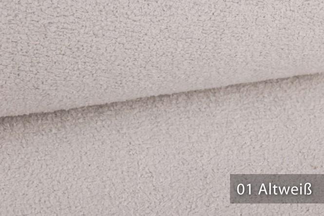 novely® MUSTERSTÜCKE - Möbelstoffe EXQUISIT - DOLORES | E-DOL - 01 Altweiß