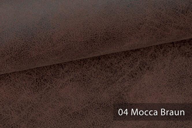 ETERNITY - Exquisit Kunstleder - 04 Mocca Braun