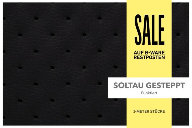 SOLTAU - Gestepptes Kunstleder   RESTPOSTEN