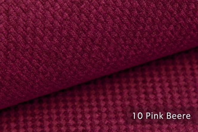 GRANA - Melierter Möbelstoff - 10 Pink Beere