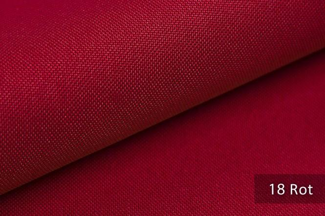 HANAU - Feingewebter Möbelstoff - 18 Rot