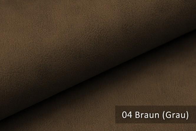 KONSTANZ - Vintage Kunstleder - 04 Braun (Grau)