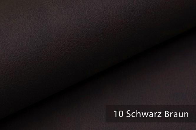 KONSTANZ - Vintage Kunstleder - 10 Schwarz Braun
