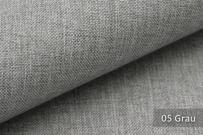 LUSO - Melierter Möbelstoff - 05 Grau