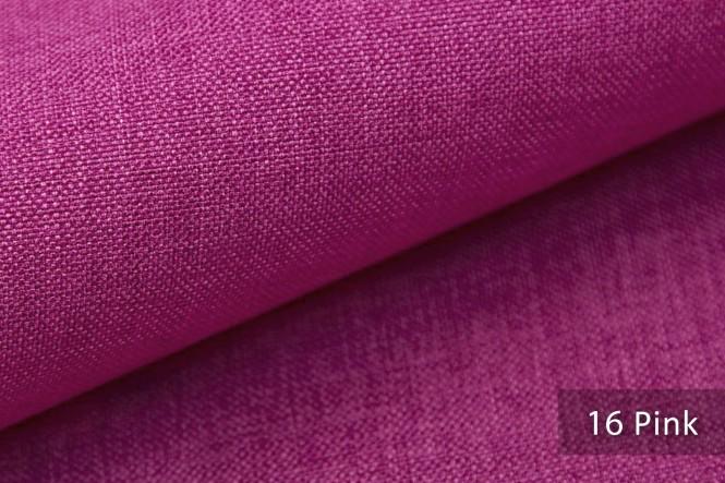LUSO - Melierter Möbelstoff - 16 Pink