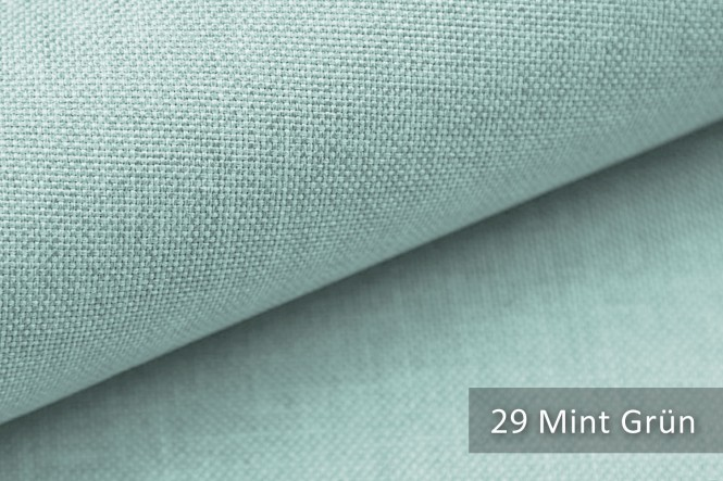 LUSO - Melierter Möbelstoff - 29 Mint Grün
