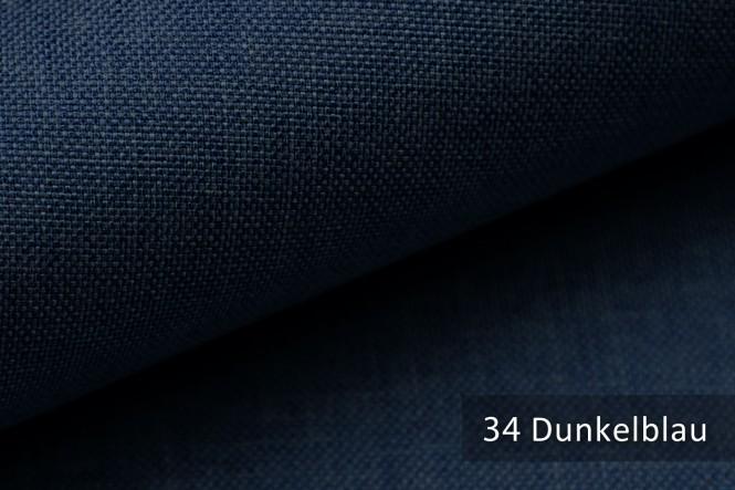LUSO - Melierter Möbelstoff - 34 Dunkelblau