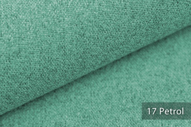 MALCHIN - Kuscheliger Möbelstoff - 17 Petrol