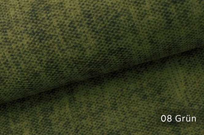MARLOW - Velours Möbelstoff - 08 Grün