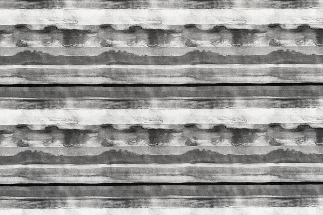 OXFORD 210D - D308 Aquarell Streifen Grau