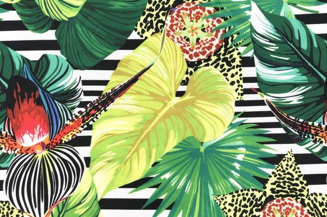 OXFORD 210D - D168 Striped Jungle