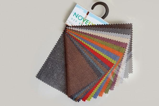 novely® Muster-Farbfächer - OXFORD 330D Leinenlook