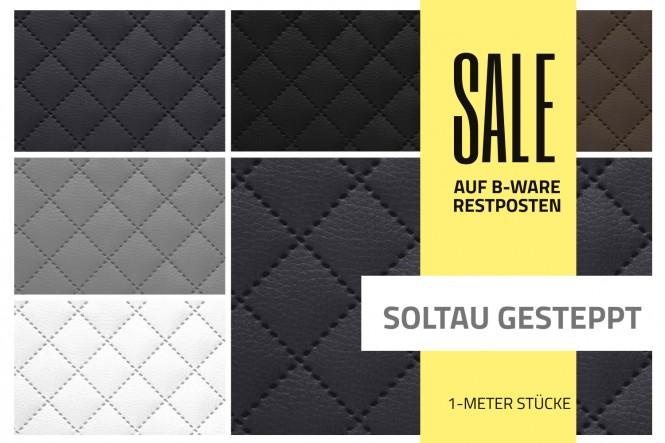 SOLTAU Gesteppt Kunstleder | RESTPOSTEN