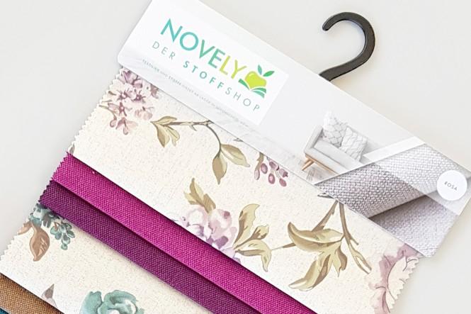 novely® Muster-Farbfächer - HANAU ROSEN
