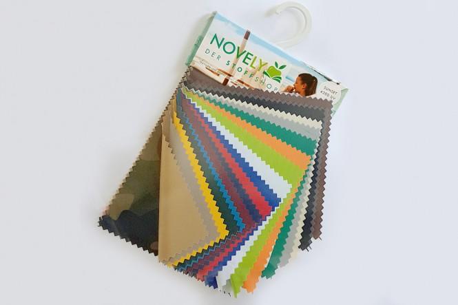 novely® Muster-Farbfächer - SUNSET 420D