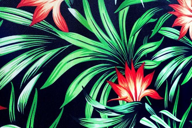OXFORD 210D - D139 Tropic Blumen