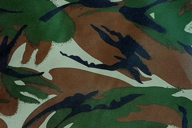 OXFORD 210D - D15 Camouflage Dunkel