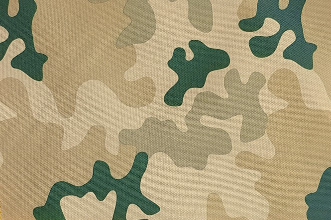 OXFORD 210D - D16 Camouflage Hell