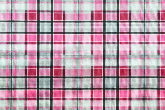 OXFORD 210D - D56 Karo Mini Pink