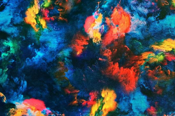 OXFORD 210D - D69 Festival of Colours