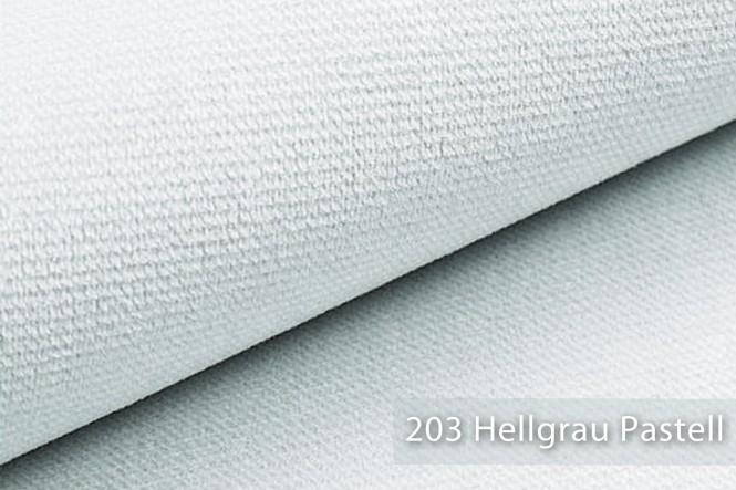 novely® MUSTERSTÜCKE - Möbelstoffe Velours - PASSAU | M-PAS - 203 Hellgrau Pastell
