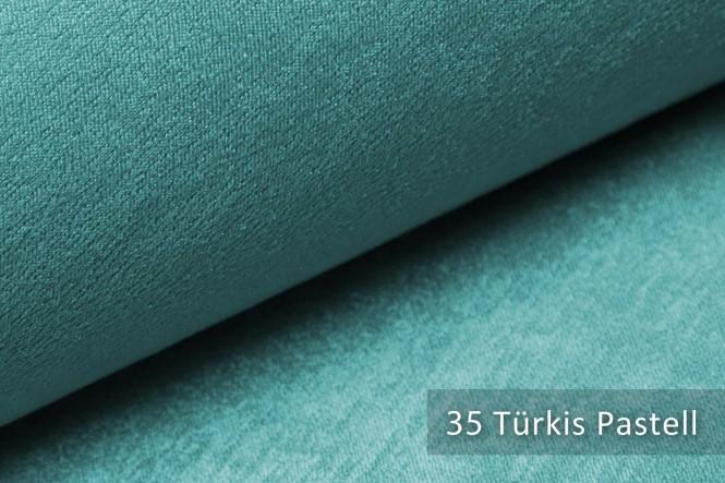 PLATIN - Glänzender Möbelstoff - 35 Türkis Pastell