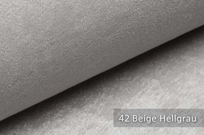 PLATIN - Glänzender Möbelstoff - 42 Beige Hellgrau