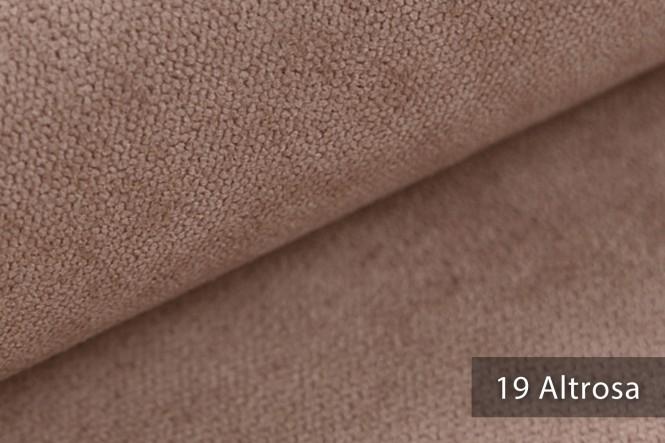 RICKERT - Velours Möbelstoff - 19 Altrosa