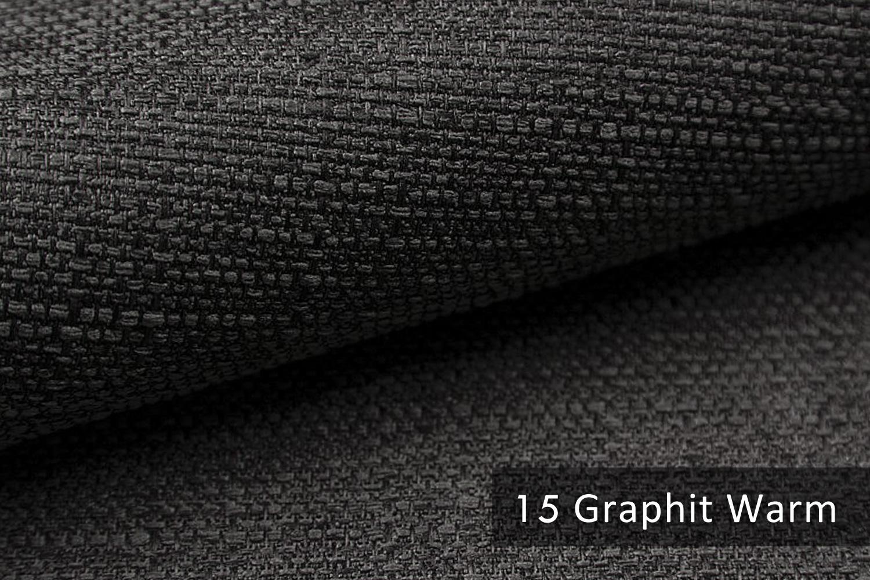 novely gotha leicht grob gewebter polsterstoff m belstoff farbe 15 graphit warm novely. Black Bedroom Furniture Sets. Home Design Ideas
