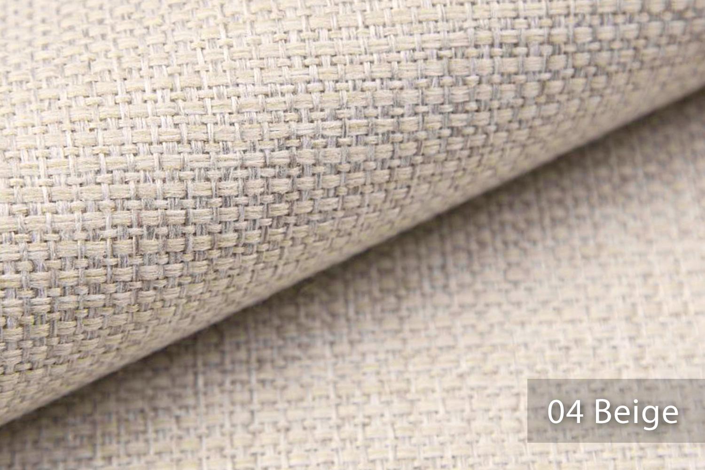 novely krems melierter grob gewebter polsterstoff in 14 modernen farben farbe 04 beige novely. Black Bedroom Furniture Sets. Home Design Ideas