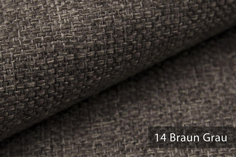 novely krems melierter grob gewebter polsterstoff in 14 modernen farben farbe 14 braun grau. Black Bedroom Furniture Sets. Home Design Ideas