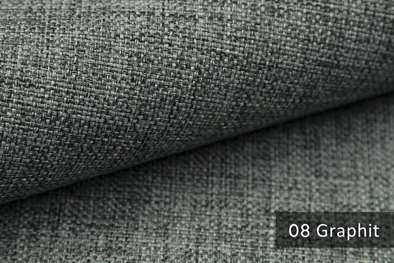 novely lehr leicht grob gewebter polsterstoff meliert m belstoff 08 graphit novely. Black Bedroom Furniture Sets. Home Design Ideas